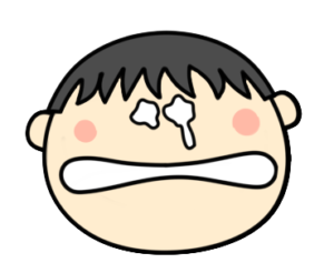 泣く 涙 男の子