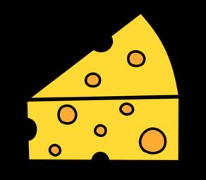 チーズ 三角 フリー素材