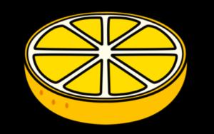 みかん フリー素材 黄色 カット