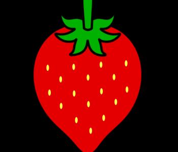 イチゴ フリー素材 赤