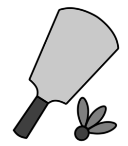 羽子板白黒フリー素材 羽根つきお正月イラスト