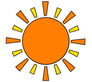 太陽 フリー素材 お日様