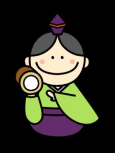 五人囃子 フリー素材 雛人形 ひな祭りイラスト