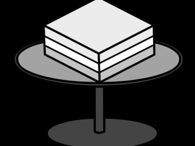 菱餅 白黒フリー素材 ひな祭りイラスト
