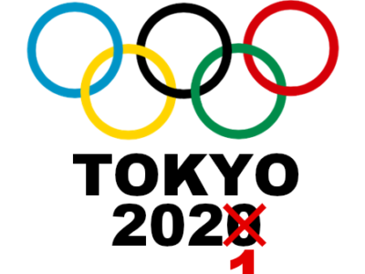 東京オリンピック延期 2020→2021 フリー素材 イラスト 五輪