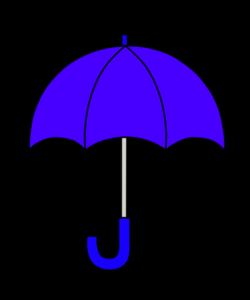 傘 フリー素材 雨 梅雨 青