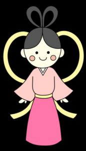 織り姫 七夕イラスト フリー素材