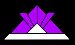 折り紙兜 フリー素材 こどもの日イラスト 紫