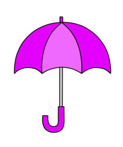 傘 フリー素材 雨 梅雨 紫