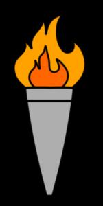 オリンピック 聖火イラスト フリー素材