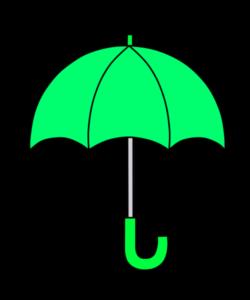 傘 フリー素材 雨 梅雨 緑
