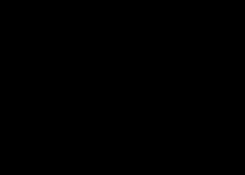 魔女の帽子 白黒フリー素材 シルエット ハロウィンイラスト