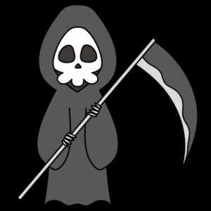 死神 フリー素材 ハロウィン