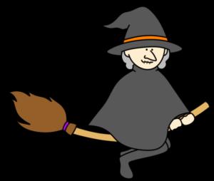 魔女 フリー素材 ハロウィン