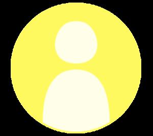 アイコン デフォルト風 黄色 フリー素材