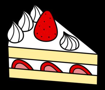 ショートケーキ フリー素材