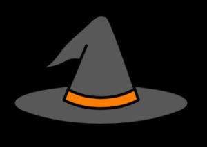 魔女の帽子 フリー素材 ハロウィンイラスト