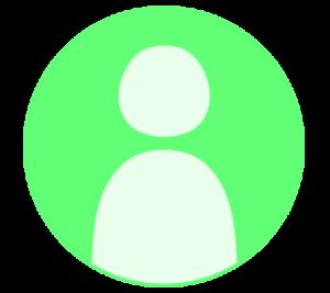 アイコン デフォルト風 緑 フリー素材