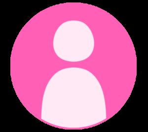 アイコン デフォルト風 ピンク フリー素材