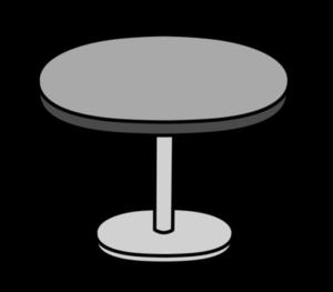 丸いテーブル フリー素材