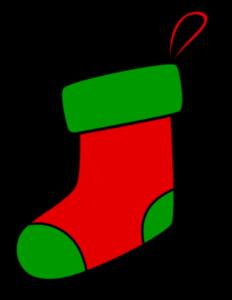 クリスマス 靴下イラスト フリー素材 赤