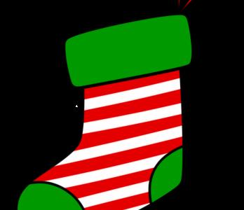 クリスマス 靴下イラスト フリー素材 縞模様