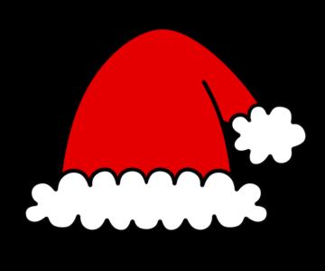サンタ帽 フリー素材 クリスマスイラスト 無料