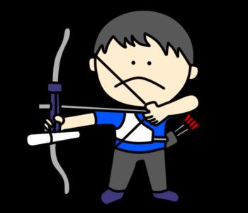 アーチェリー オリンピック日本代表 フリー素材 男子