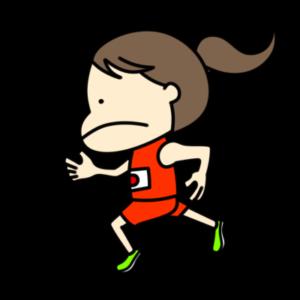 陸上 短距離 オリンピック日本代表 フリー素材 女子