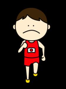 陸上 マラソン オリンピック日本代表 フリー素材 男子