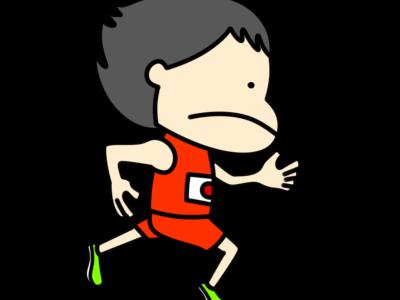 陸上 短距離 オリンピック日本代表 フリー素材 男子