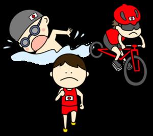 トライアスロン オリンピック日本代表 フリー素材 男子