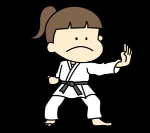 空手 オリンピック日本代表 フリー素材 女子