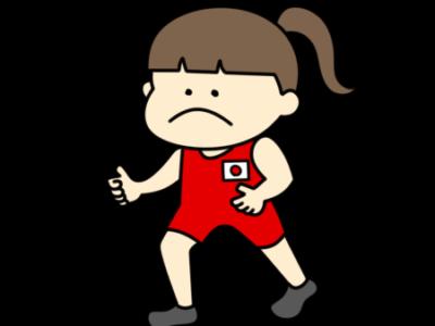 レスリング オリンピック日本代表 フリー素材 女子