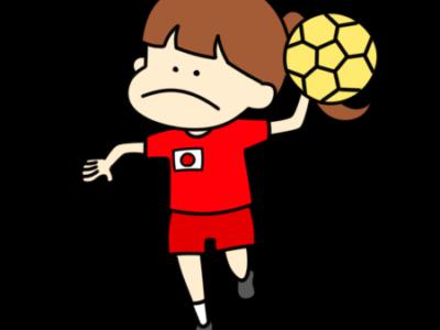 ハンドボール オリンピック日本代表 フリー素材 女子