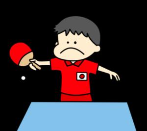 卓球 オリンピック日本代表 フリー素材 男子