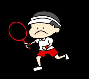 テニス オリンピック日本代表 フリー素材 男子
