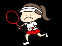 テニス オリンピック日本代表 フリー素材 女子