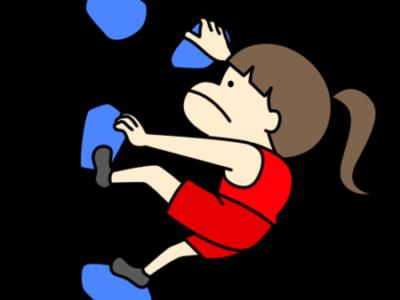 スポーツクライミング オリンピック日本代表 フリー素材 女子