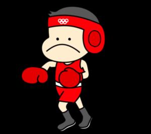 ボクシング オリンピック日本代表 フリー素材 男子