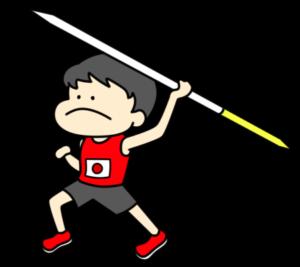 陸上 やり投げ オリンピック日本代表 フリー素材 男子