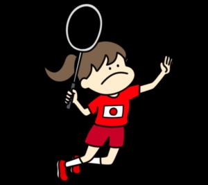 バドミントン オリンピック日本代表 フリー素材 女子