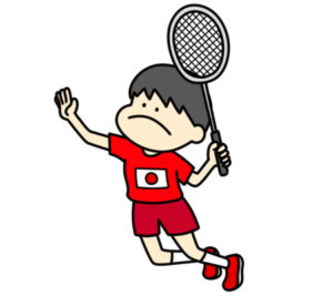 バドミントン オリンピック日本代表 フリー素材 男子