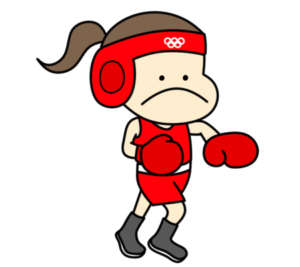 ボクシング オリンピック日本代表 フリー素材 女子
