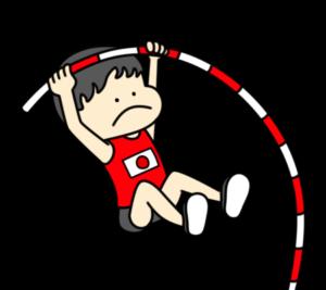 陸上 棒高跳び オリンピック日本代表 フリー素材 男子