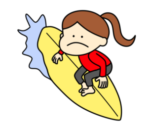 サーフィン オリンピック日本代表 フリー素材 女子