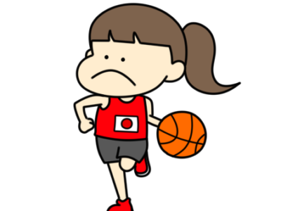 バスケットボール オリンピック日本代表 フリー素材 女子