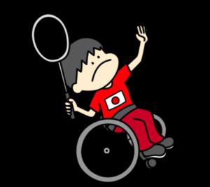バドミントン パラリンピック 日本代表 フリー素材 男子