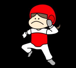 テコンドー パラリンピック 日本代表 フリー素材 女子