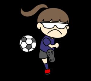 5人制サッカー パラリンピック 日本代表 フリー素材 女子